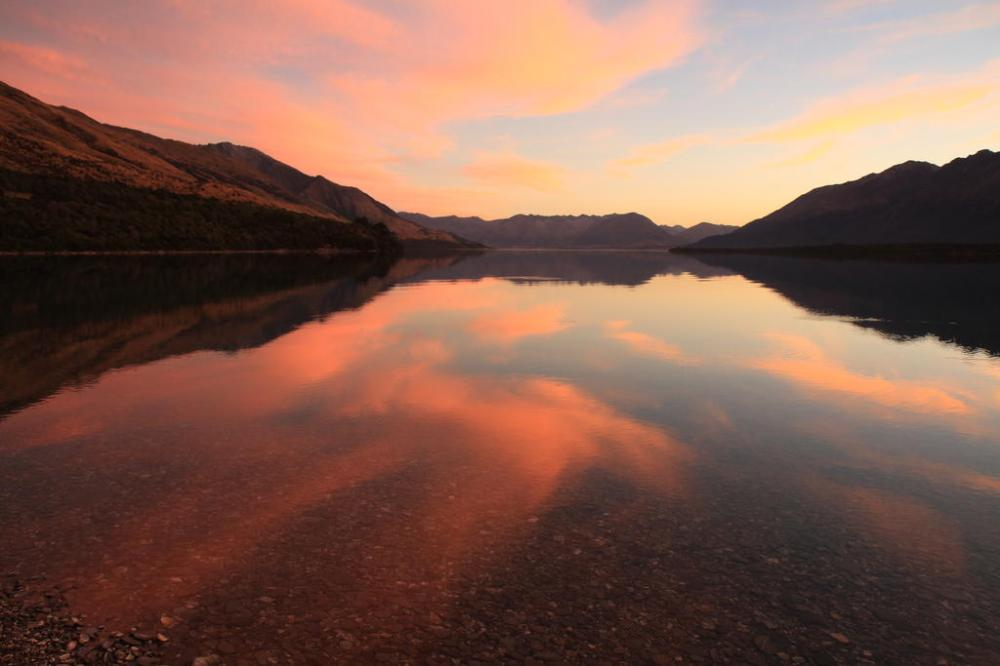 wakatipu 2 sunset