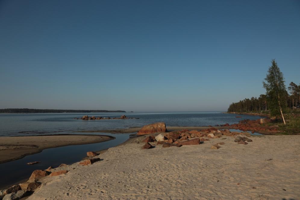 Unser Platz am Meer in Sjörfarden