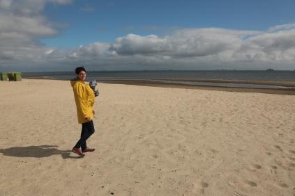 Der Strand bei Nieblum